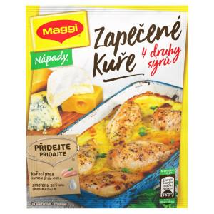 MAGGI Nápady Zapekané kura so 4 druhmi syra 32 g 3