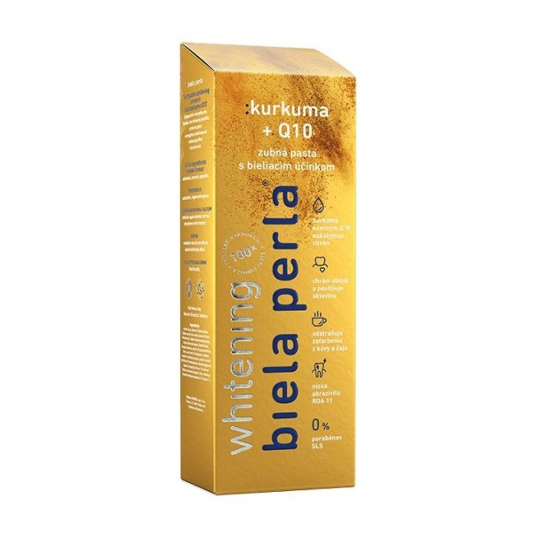 Biela Perla pasta Kurkuma + Q10 75 ml 1