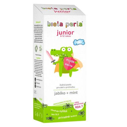 Biela Perla pasta Junior 50 ml (6-12 rokov) 1