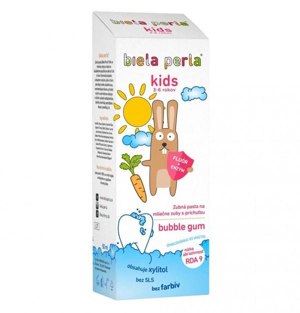 Biela Perla pasta Kids 50 ml (3-6 rokov) 1