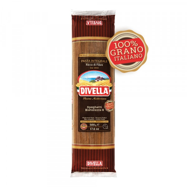 Cestoviny DIVELLA Špagety celozrnné 500g 1