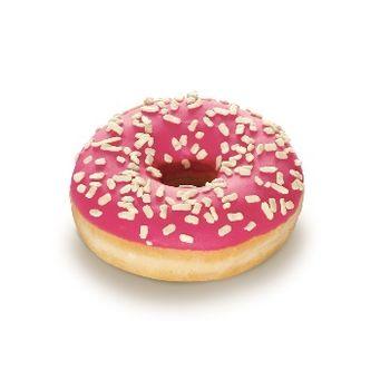 """Donut """"Pinky"""" s cukrovo-jahodovou polevou 58g 1"""