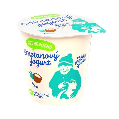 Jednoducho smotanový jogurt kokos Malý Gazda 140g 1
