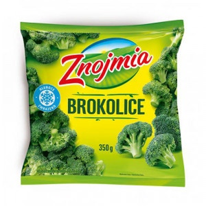 Mrazená brokolica Znojmia 350g 33