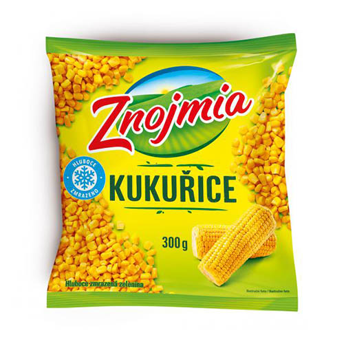 Mrazená kukurica jemná Znojmia 300g 1