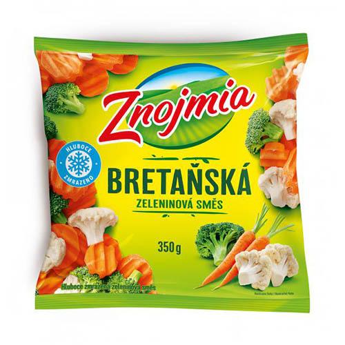 Mrazená zeleninová zmes bretánska Znojmia 350g 1