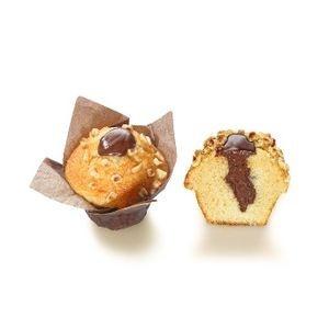 Muffin vanilkový s lieskovo-orieškovou plnkou 112g 4