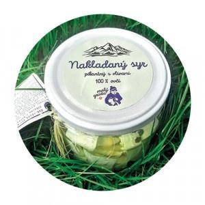 Nakladaný ovčí syr pikant s oliv. Malý Gazda 250g 20