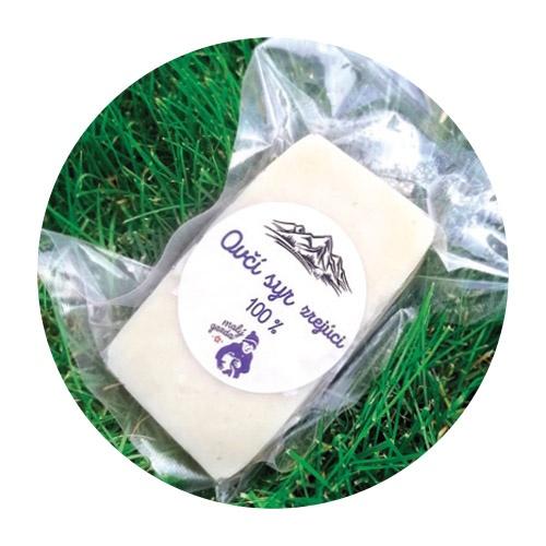 Ovčí syr zrejúci Malý Gazda cca 200g 1
