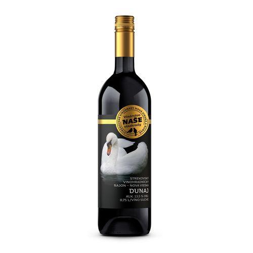 Víno č. Dunaj suché, Naše vinohrady 0,75l SK 1