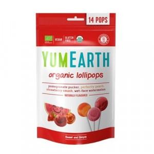 YumEarth Bio ovocné lízanky organické 85 g 14