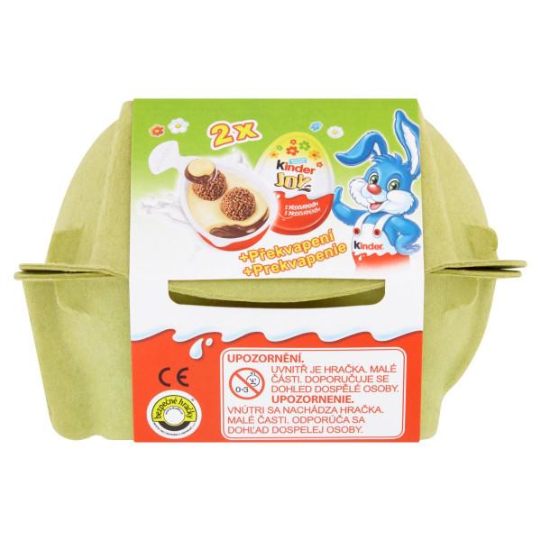 Veľkonočné vajíčka Kinder Joy 2 ks x 20g 1