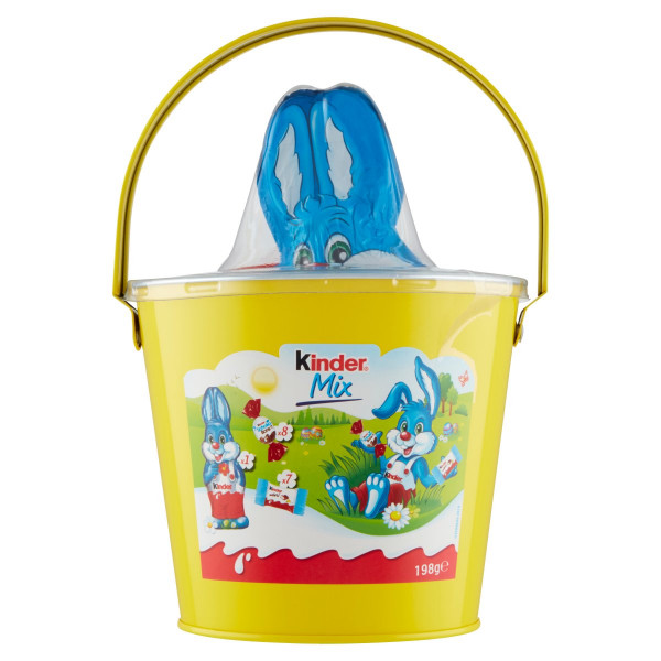 Veľkonočné vedierko Kinder Mix 198g 1