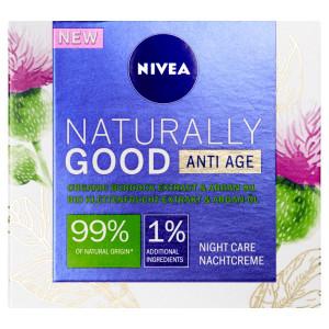 Nivea Naturally Good Nočný krém proti vráskam 50ml 5