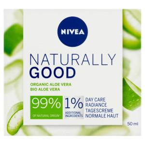Nivea Naturally Good Rozjasňujúci denný krém 50ml 41