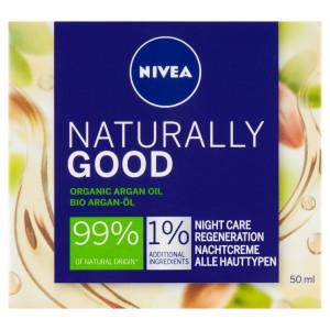 Nivea Naturally Good Regeneračný nočný krém 50ml 37