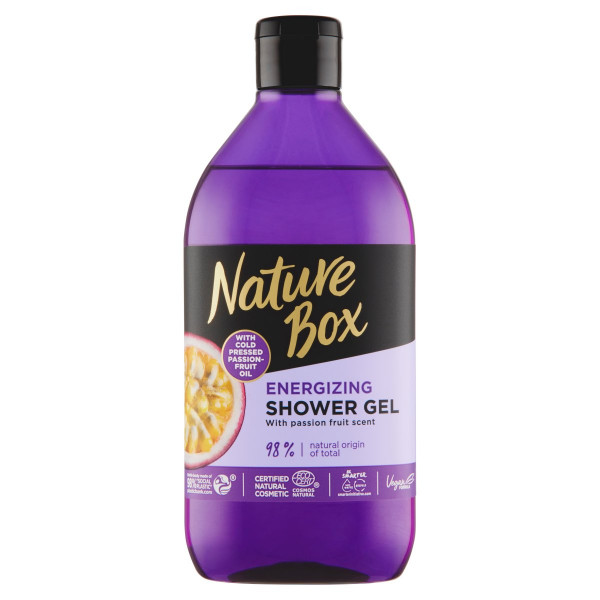 Nature Box sprchovací gél Passion Fruit Oil 385ml 1