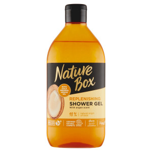 Nature Box sprchovací gél Argan Oil 385ml 10