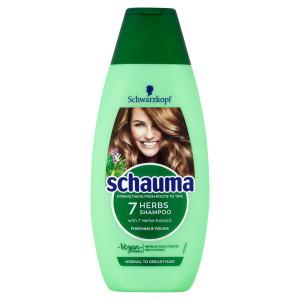 Schauma šampón 7 bylín pre objem vlasov 400ml 10
