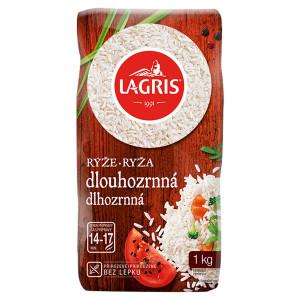 Ryža Dlhozrnná štandard 1kg, Lagris 10