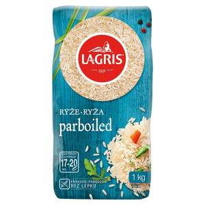 Ryža Parboiled 1kg, Lagris 18
