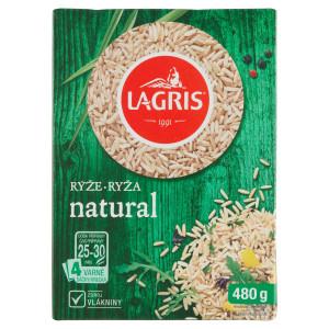 Ryža Natural varné vrecká 480g, Lagris 17