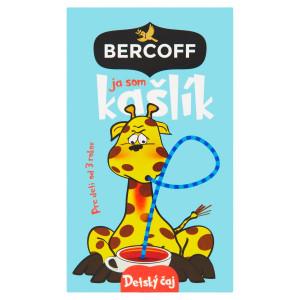 Bercoff detský čaj Ja som Kašlík, 40 g 2