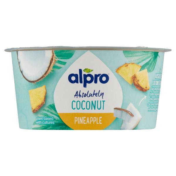 Kokosová alter. jogurtu ananás Alpro 120g VÝPREDAJ 1