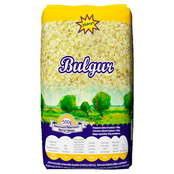 Bulgur drvená pšenica 500g, Mánya 1
