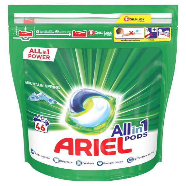 Ariel All In 1 Mountain Spring kapsule 46PD 1