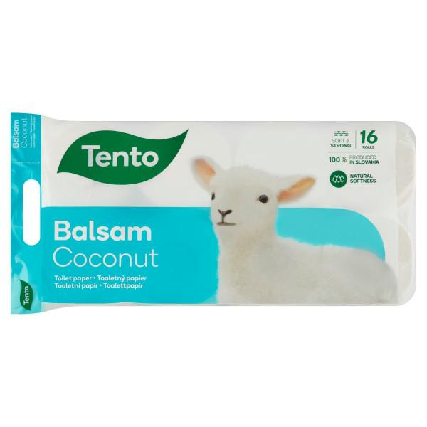 Tento Balsam Coconut toaletný papier 3 vr. 16 ks 1