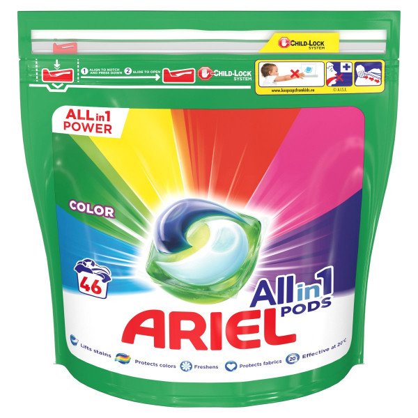 Ariel All In 1 Pods Color kapsule 46PD 1