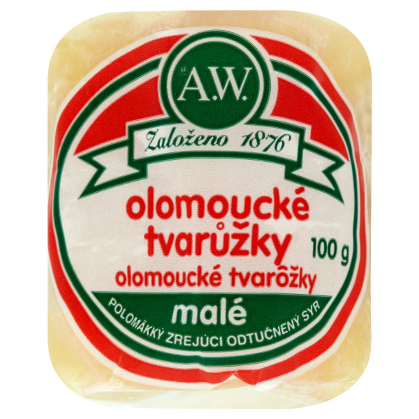 Olomoucké tvarôžky 100g 1