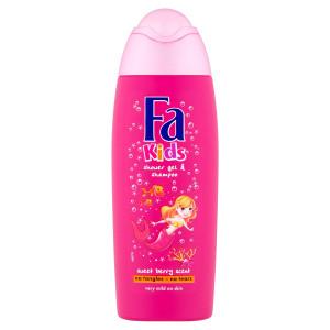 Fa Kids sprchovací gél a šampón Sweet Berry 250 ml 63