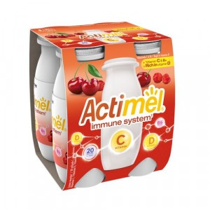 Actimel jog. nápoj čerešňa acerola C DANONE 4x100g 6