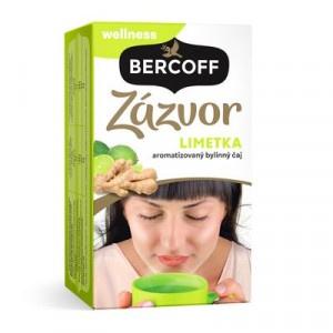 Bercoff čaj Zázvor Limetka, 40 g 2