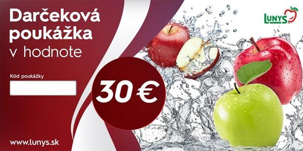 Darčekový poukaz 30 EUR eshop 1