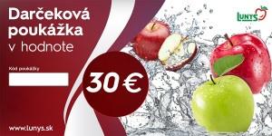 Darčekový poukaz 30 EUR eshop 6