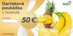 Darčekový poukaz 50 EUR eshop 7