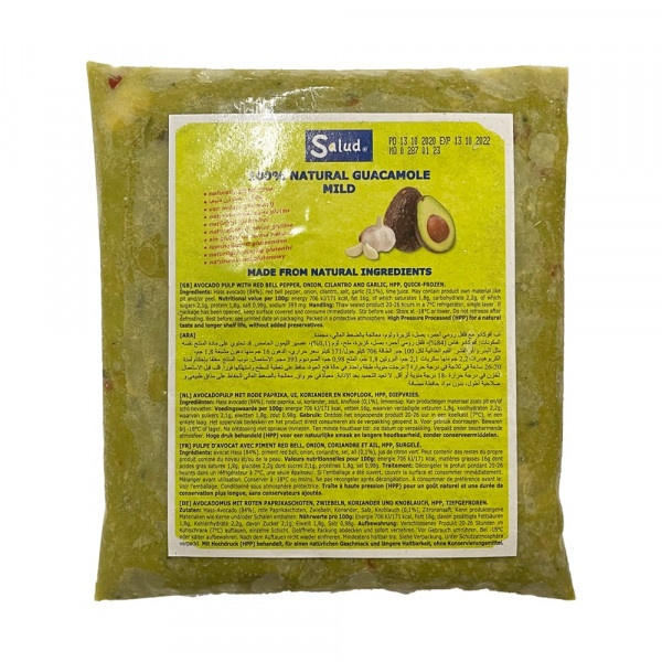 LW Guacamole natural mrazené 500g 1
