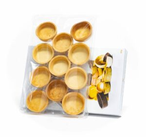 Maslovo-vanilkový košíček Tartaletka 11ks, 209g 2