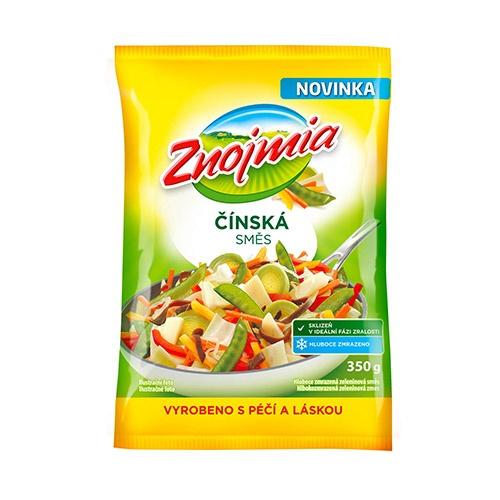 Mrazená zeleninová čínska zmes Znojmia 350g 1
