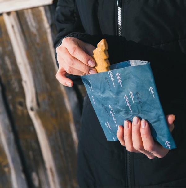 Peelo,Voskový Obrúsok na potraviny veľ.L (30x30cm) 2