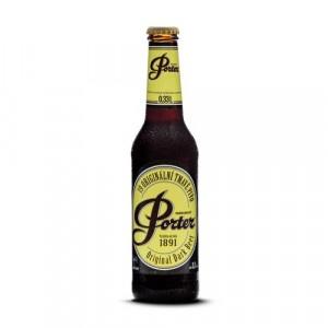 Pivo Porter 19 8% tmavé 0,33l sklo 12ks balenie 6