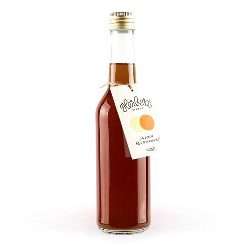 Sirup Jazmín & Pomaranč, Herbert 350 ml 1