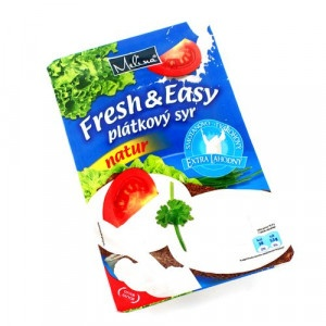 Syr plátkový natur FRESH and EASY 150g 10