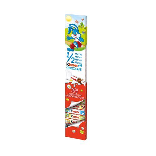 Veľkonočná Kinder čokoláda 1/2 metra 300g 1