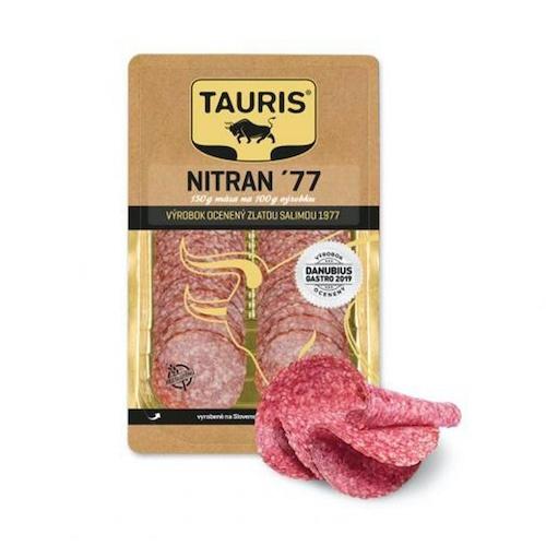 Saláma NITRAN ´77 GOLD 75g TAURIS VÝPREDAJ 1