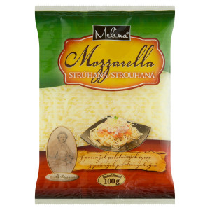 Mozzarella strúhaná MELINA 100g 4