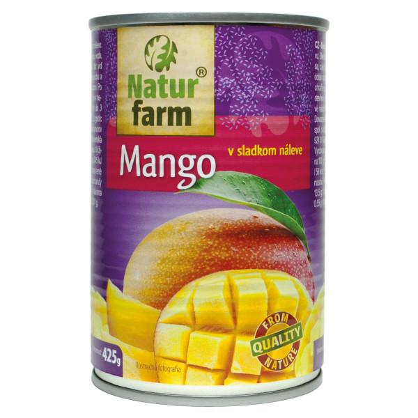 Mango v sladkom naleve kompót Natur Farm 425 g 1